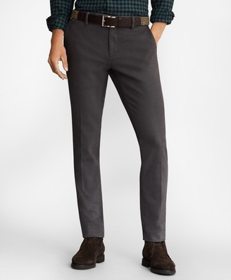 Brooks Brothers Soho Fit Brushed Twill Stretch Chinos