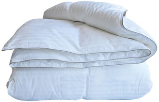 Natural Comfort 300TC Sateen White Down Alternative Duvet Insert, Over