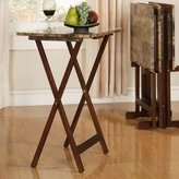 Andover Mills Pottsgrove Tray Table Set