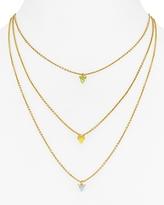 Rebecca Minkoff Tiered Spear Necklace, 16