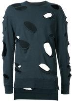 Miharayasuhiro distressed sweatshirt