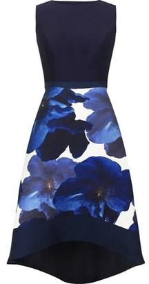 Dorothy Perkins Womens Chi Chi London Blue Bray Skater Dress, Blue
