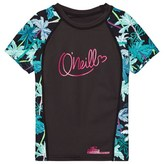 O'Neill Black Zuma Beach Palm Print Rash Vest