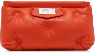 Maison Margiela Tufted Faux Leather Clutch