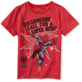 Spiderman Mini Fine 'Spiderman' T-Shirt (Toddler)