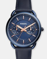 Fossil Tailor Blue Chronograph Watch