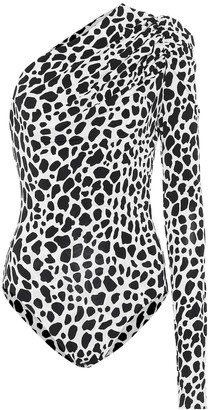Alexandre Vauthier Exclusive to Mytheresa Animal-print stretch-jersey bodysuit