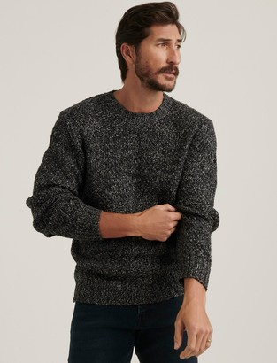 Lucky Brand Cross Marl Stitch Pullover Sweater