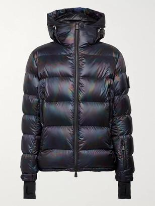 MONCLER GRENOBLE Lignod Slim-Fit Quilted Iridescent Ripstop Down Ski Jacket