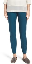 Eileen Fisher Women's Stretch Crepe Ankle Pants