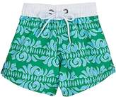 Snapper Rock Abstract-Print Swim Trunks