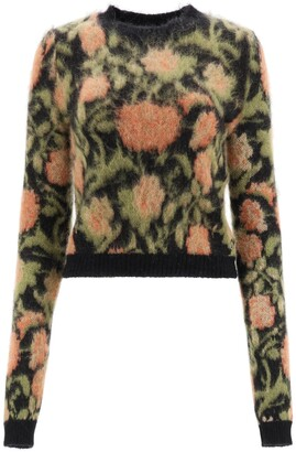 Paco Rabanne Floral Tapestry Pullover