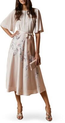 Ted Baker Erla Bouquet Midi Dress