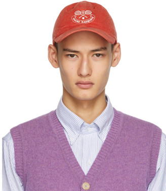 Drakes Red Cord Chard Racquets Cap