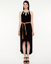 Le Château Jersey Halter High-Low Dress
