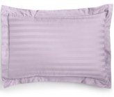 Charter Club CLOSEOUT! Damask Stripe Standard Sham, 500 Thread Count 100% Pima Cotton