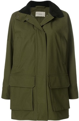 Holland & Holland Hooded Military Coat