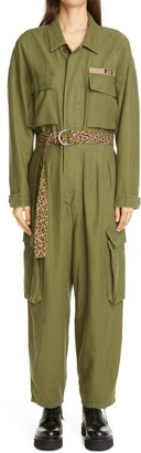 R 13 Abu Belted Jumpsuit