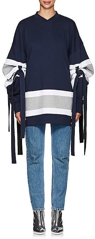 Y/Project Women's Striped Cotton Sweatshirt