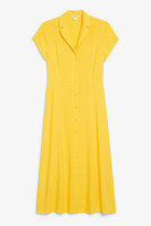 Monki Fitted button-up dress