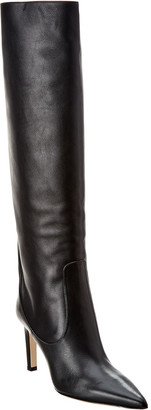 Jimmy Choo Mavis 85 Leather Knee Boot