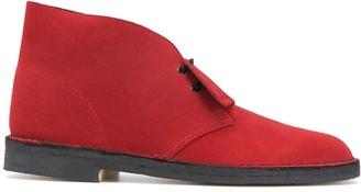 Clarks Brandy suede desert boots