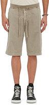 James Perse Men's Drawstring-Waist Surplus Shorts-GREY