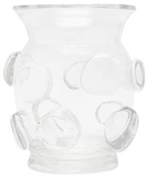 AERIN Abel Small Glass Vase - Clear