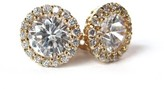 The Well Appointed House St James Gold & Crystal Stud Earrings