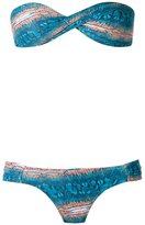 BRIGITTE bandeau bikini set - women - Polyamide/Spandex/Elastane - PP