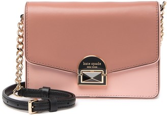 Kate Spade Neve Leather Two Tone Crossbody Bag