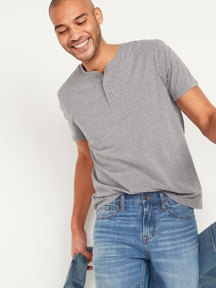 Old Navy Soft-Washed Henley Tee 3-Pack for Men