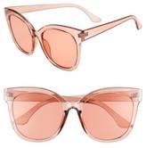 BP Women's Clear Sunglasses - Peach