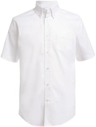 Nautica Short Sleeved Oxford Shirt