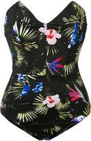 Fleur Du Mal strapless swimsuit - women - Polyamide/Spandex/Elastane - XS