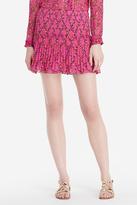 Diane von Furstenberg Tayte Shirred Mini Skirt