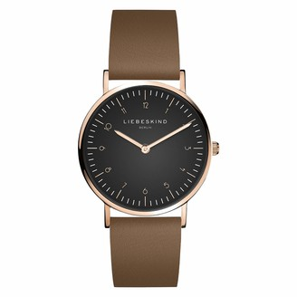 Liebeskind Berlin Womens Analogue Quartz Watch with Leather Strap LT-0198-LQ