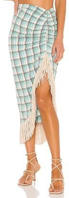 Just BEE Queen Mallorca Seersucker Skirt