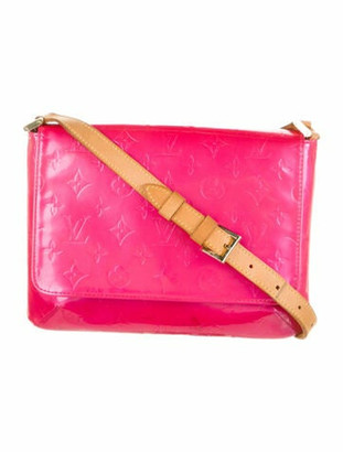 Louis Vuitton Monogram Vernis Thompson Street Fuchsia