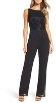 Mac Duggal Women's Beaded Jumpsuit