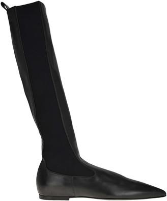 Jil Sander Flat Boots