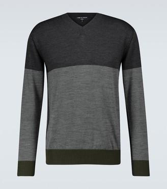 Comme des Garçons Homme Wool V-neck sweater