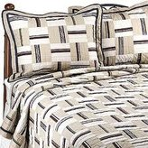Nautica Harbor Twill Quilted Standard Pillow Sham