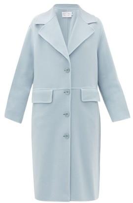 Proenza Schouler White Label Single-breasted Pressed Wool-blend Coat - Light Blue