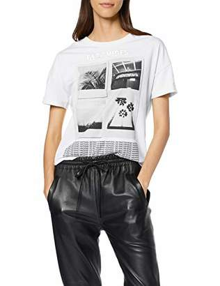 Q/S designed by Women's 46.906.32.5318 T-Shirt,XX-Large