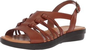 Easy Street Shoes Women's MADBURY Flat Sandal