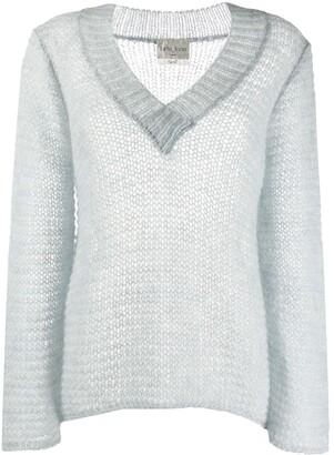 Forte Forte chunky knit V-neck jumper