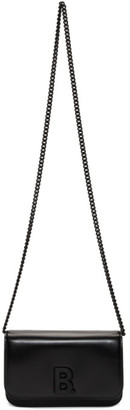 Balenciaga Black B. Wallet Chain Bag