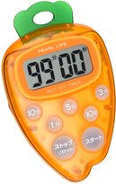 Pearl moment kitchen timer Carrot C-3242 (japan import)