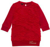 Guess Long Sleeve Roses Top